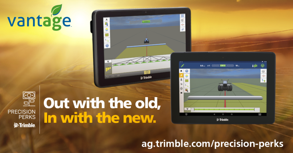 trimble display trade up